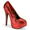 TEEZE-06GW Red Glitter